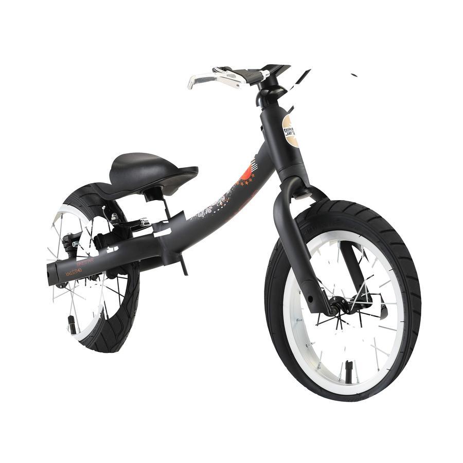 BIKESTAR® Sicherheits Kinderlaufrad 12 Schwarz Matt