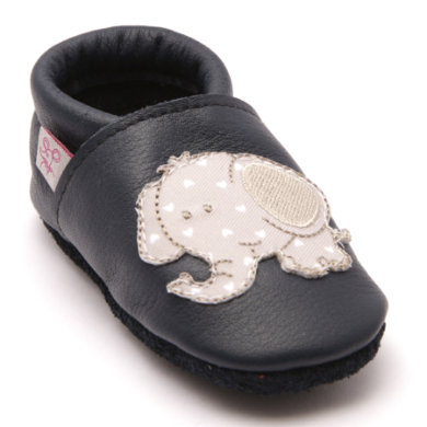 Babyschuhe - TROSTEL Krabbelschuh Dumbo dunkelblau - Onlineshop Babymarkt