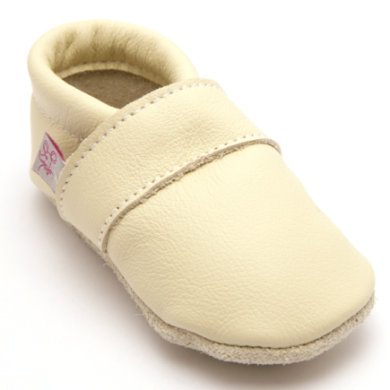 Babyschuhe - TROSTEL Krabbelschuh Classic beige - Onlineshop Babymarkt
