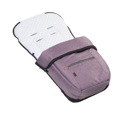 Hartan Fußsack Sommer/Winter blackberry (710)
