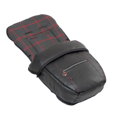 Hartan Fußsack Sommer/Winter red check (744) - ...