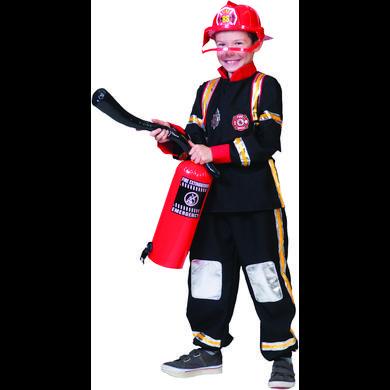 FUNNY FASHION Costume da Carnevale Pompiere
