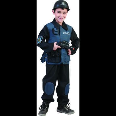 Funny Fashion Costume di Carnevale Poliziotto