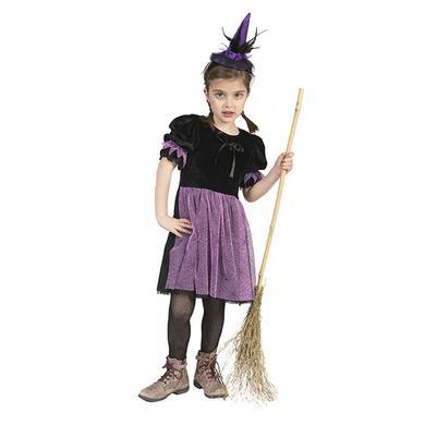 Kostuemefuermaedchen - Funny Fashion Kostüm Hexe Pipa – lila – Gr.140 – Mädchen - Onlineshop Babymarkt