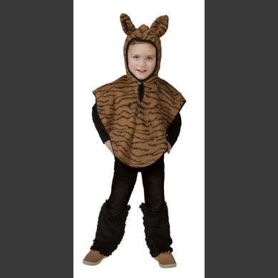FUNNY FASHION Costume di Carnevale Tiger Cape Costume di Carnevale
