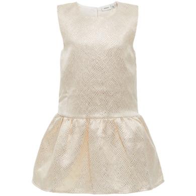 Girls Kleid Ines gold colour - beige - Gr.104 - Mädchen