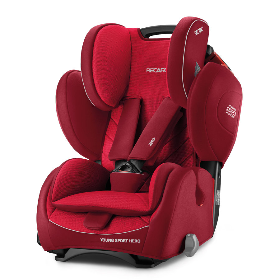 RECARO Kindersitz Young Sport Hero Indy Red