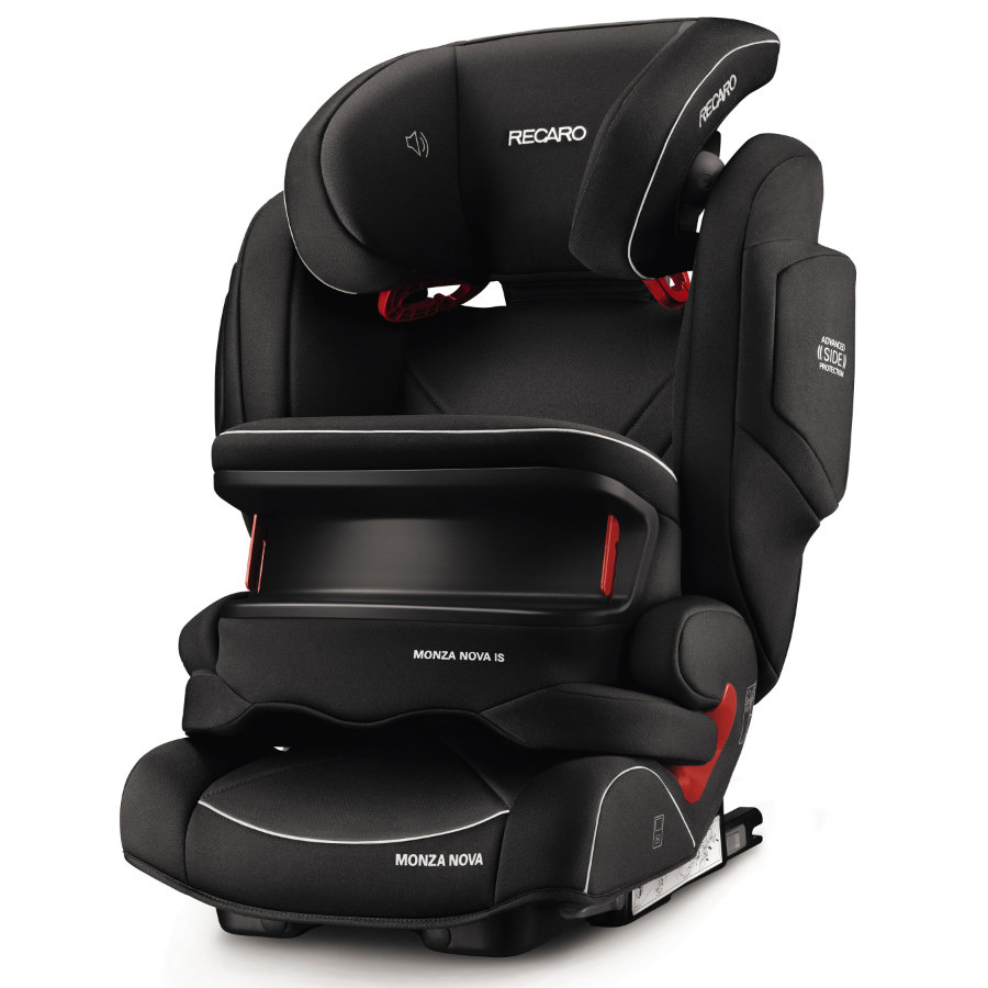 RECARO Kindersitz Monza Nova IS Seatfix Performance Black