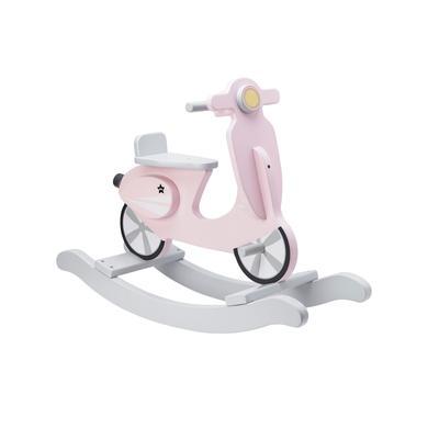 Kids Concept  Gynge-Scooter, rosa/hvid