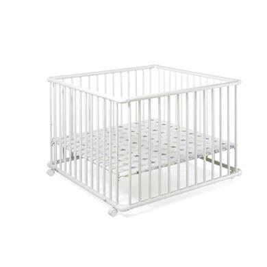 Laufgitter - Geuther Laufgitter Belami Plus 97 x 97 cm weiß Sterne  - Onlineshop Babymarkt