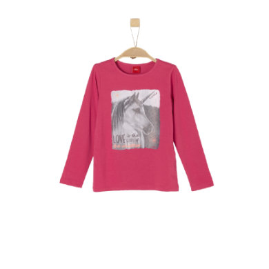 s.Oliver Girls Langarmshirt dark pink Gr.Kindermode (2 6 Jahre) Mädchen