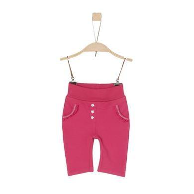 s.Oliver Girls Sweathose dark pink rosa pink Gr.Newborn (0 6 Monate) Mädchen