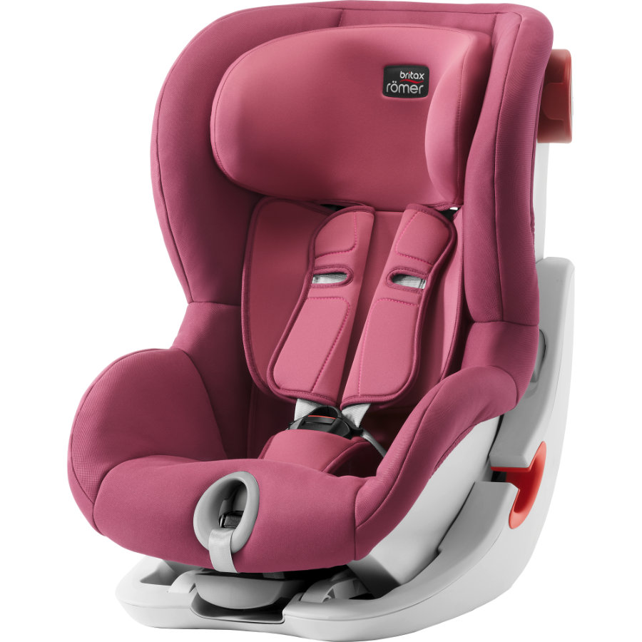 Britax Römer Kindersitz King II Wine Rose