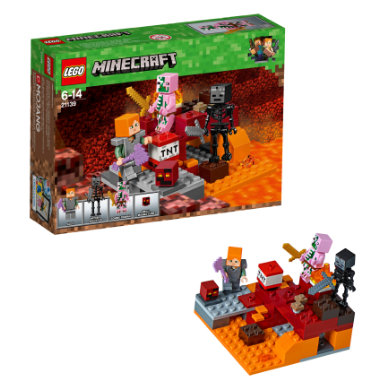 LEGO® Minecraft™ - Nether-Abenteuer 21139