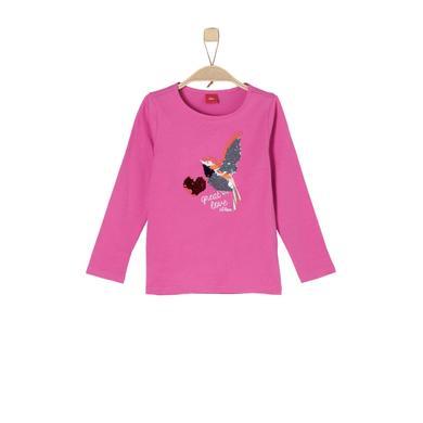 s.Oliver Girls Langarmshirt pink rosa pink Gr.Kindermode (2 6 Jahre) Mädchen