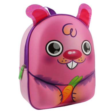 Kidzroom Animal Friends 3D Rucksack Hase