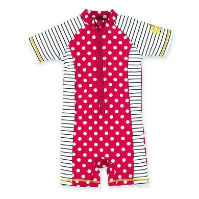 Sterntaler Girls UV Schwimmanzug Punkte rot Gr.Babymode (6 24 Monate) Mädchen