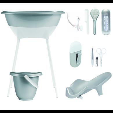 Luma®  Babycare Bade- og pleiesett sparkling sølv - Grå