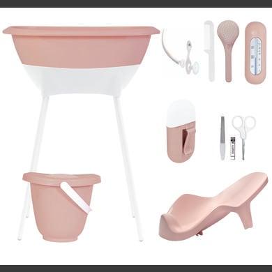 Luma®  Babycare Bade- og pleiesett skyrosa - Rosa/Rødrosa