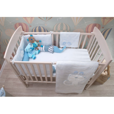toTs by smarTrike bed set Třída ic blue - melange