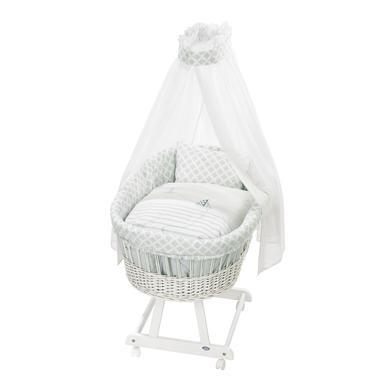 Kindertextilien - Alvi Stubenwagengarnitur 3 tlg, Meerlust blau Gr.80x80 cm  - Onlineshop Babymarkt