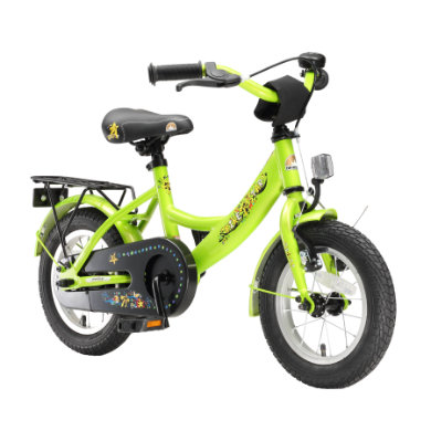 Kinderfahrrad - bikestar Premium Sicherheits Kinderfahrrad 12 Classic Grün - Onlineshop