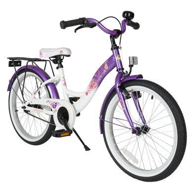 bikestar Premium Kinderfahrrad 20 Lila Weiß lila