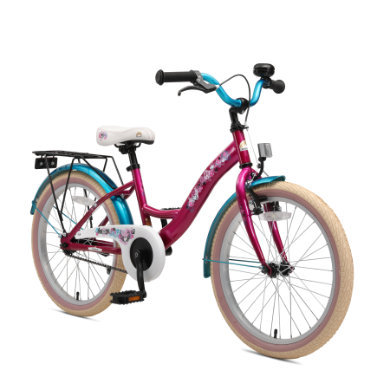 bikestar ® Premium Kinderfahrrad 20 Berry Türkis