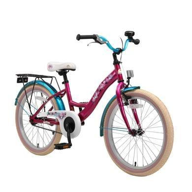 Kinderfahrrad - bikestar Premium Sicherheits Kinderfahrrad 20 Classic Berry Türkis - Onlineshop