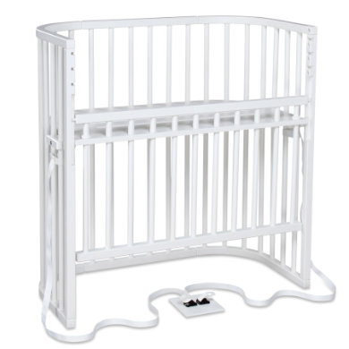 Kinderbetten - babybay Beistellbett Boxspring Comfort weiß  - Onlineshop Babymarkt