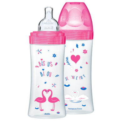 dodie  Start Set Sensation 2 x 330 ml růžová - růžovápink - Gr.260 ml - 350 ml
