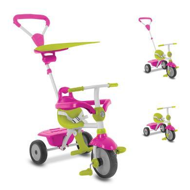 Dreirad - smarTrike® Zip 3 in 1 Dreirad pink grün - Onlineshop
