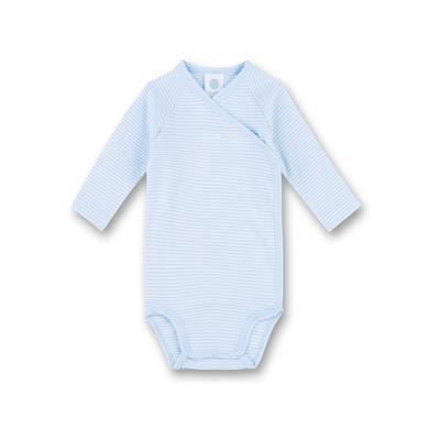 Babywaesche - Sanetta Wickelbody soft blue – blau – Gr.56 – Jungen - Onlineshop Babymarkt