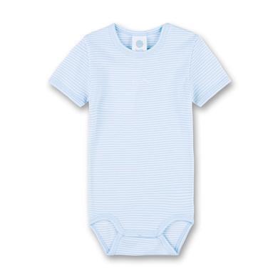 Babywaesche - Sanetta Kurzarmbody Soft Blue – blau – Gr.92 – Jungen - Onlineshop Babymarkt