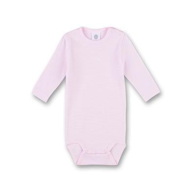Babywaesche - Sanetta Girls Langarmbody Magnolie – rosa pink – Gr.68 – Unisex - Onlineshop Babymarkt