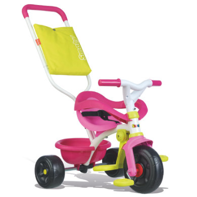 Smoby Be Fun Komfort Dreirad rosa