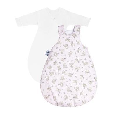 Levně JULIUS ZÖLLNER Baby Sleeping Bag Cozy Bear pink