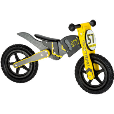 small foot ® Laufrad Motocross Bike schwarz