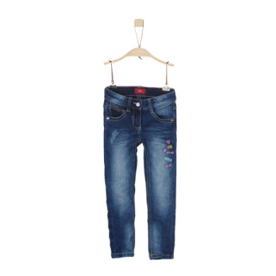 Minigirlhosen - s.Oliver Girls Jeans blue denim stretch regular - Onlineshop Babymarkt