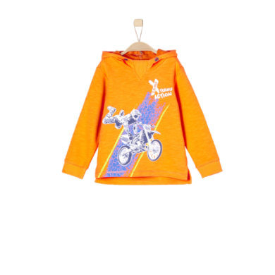 Miniboyoberteile - s.Oliver Boys Sweatshirt orange - Onlineshop Babymarkt