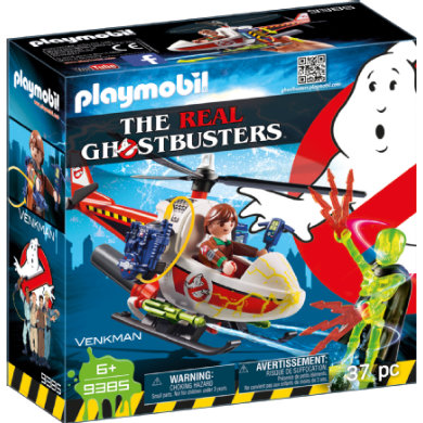 Playmobil  9385 The Real Ghostbusters Venkman s helikoptérou