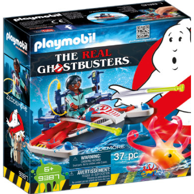 Playmobil  9387 The Real Ghostbusters Zeddemore na vodním skútru