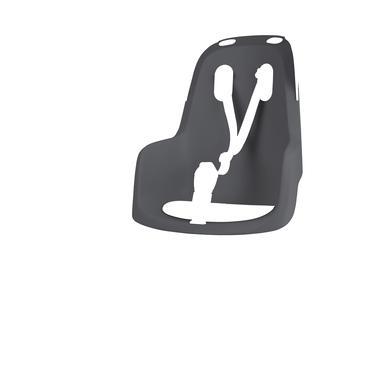 Image of bobike Fahrrad Kindersitz GO mit 1P - Bügel Macaron Grey