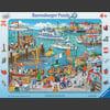 Ravensburger Frame puzzle - Jeden dzień w porcie, 24 sztuki