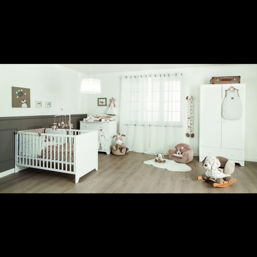 Image of bisal Kinderzimmer MNT - weiß - Gr.70x140 cm