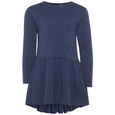 name it Girls Kleid Nmfvita dress blues blau Gr.92 Mädchen