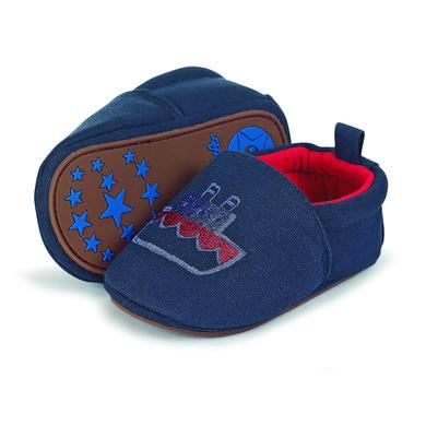 Babyschuhe - Sterntaler Boys Baby–Krabbelschuh Stickerei marine – blau – Gr.17 18 – Jungen - Onlineshop Babymarkt