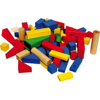 small foot® Dřevěné barevné kostky