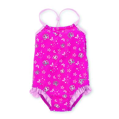 Sterntaler Girls Badeanzug Rüschen magenta rosa pink Gr.Babymode (6 24 Monate) Mädchen
