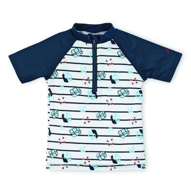 Sterntaler Boys UV Kurzarm Schwimmshirt weiß blau Gr.Babymode (6 24 Monate) Jungen